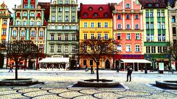 Find cheap flights to Wroclaw