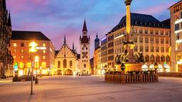 Munich hotels near Marienplatz