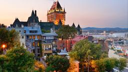 Find cheap flights from New Delhi to Québec City