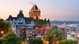 Find cheap flights to Québec City