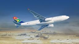 Find cheap flights on South African