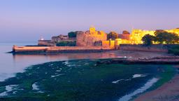 Find cheap flights from Illinois to Diu