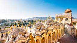 Find cheap flights from Hyderabad to Jaipur