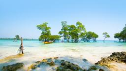 Find cheap flights from Jabalpur to Andaman and Nicobar Islands