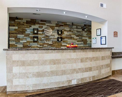 Comfort Inn & Suites Lawrence - University Area - Lawrence - Lobby
