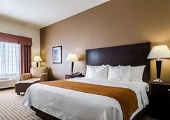 Comfort Inn & Suites Lawrence - University Area - Lawrence - Bedroom