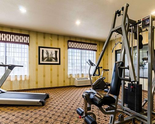 Comfort Inn & Suites Lawrence - University Area - Lawrence - Gym