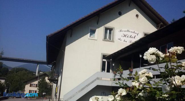 Forellenhof Hotel de la Truite - Biel - Building