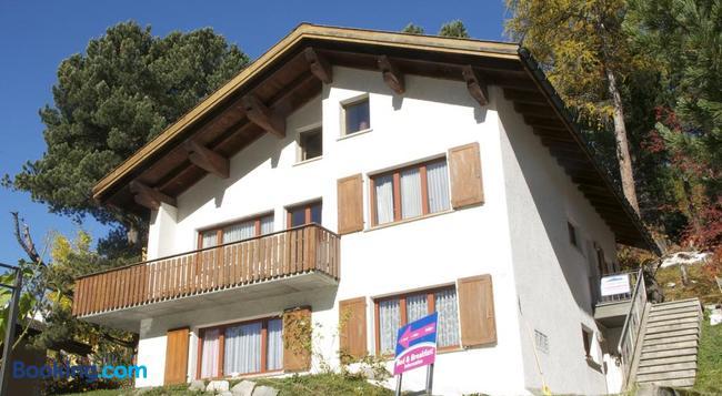 Chesa Albris Bed & Breakfast - Saint Moritz - Building