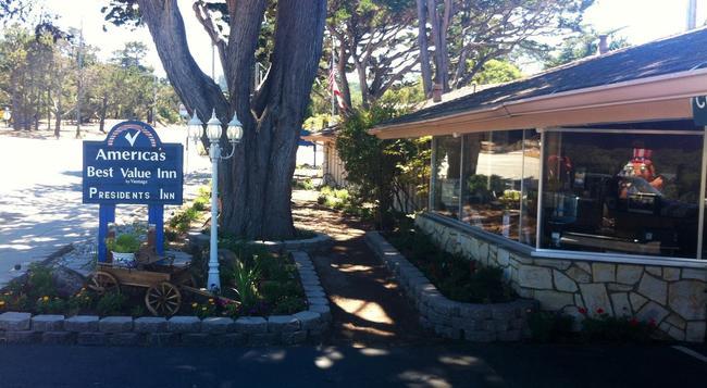Americas Best Value Presidents Inn on Munras - Monterey - Building