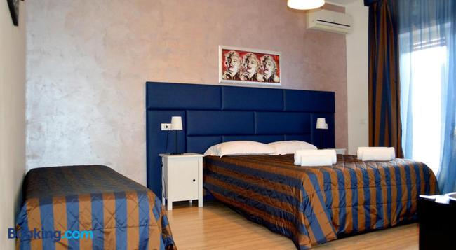 Check-Inn Rooms - Rome - Bedroom