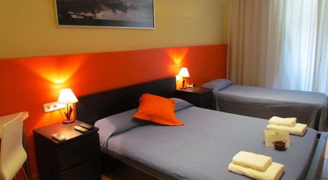 Barcelona City Centre Hostal - Barcelona - Bedroom