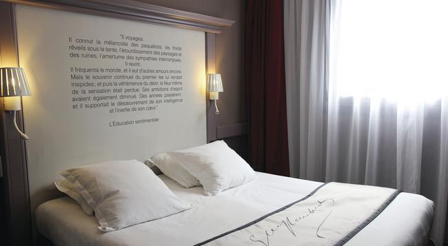 Best Western Hotel Litteraire Gustave Flaubert - Rouen - Bedroom