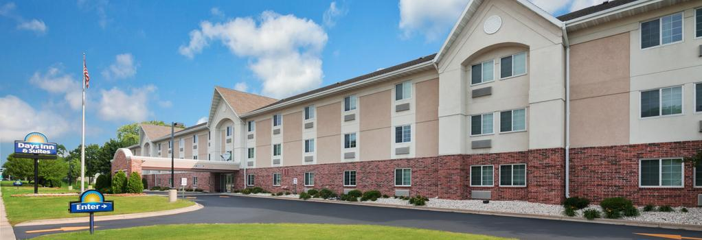 Days Inn and Suites Green Bay WI. - Green Bay - Building