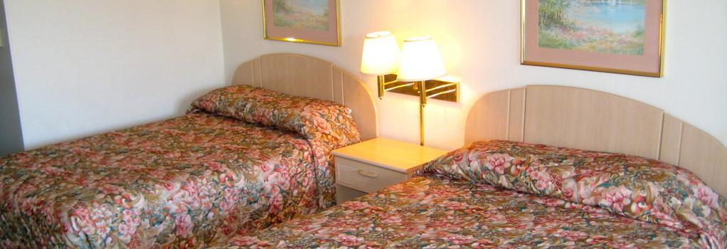 Sandstone Inn & Airport Parking - SeaTac - Bedroom