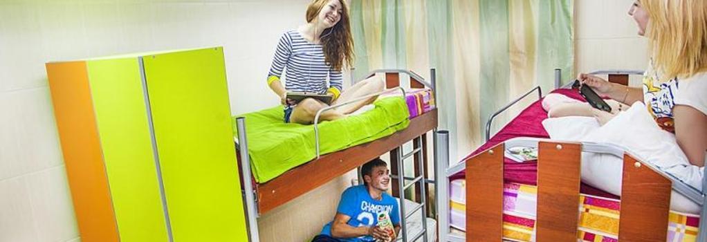 Millenium Hostel - Omsk - Bedroom