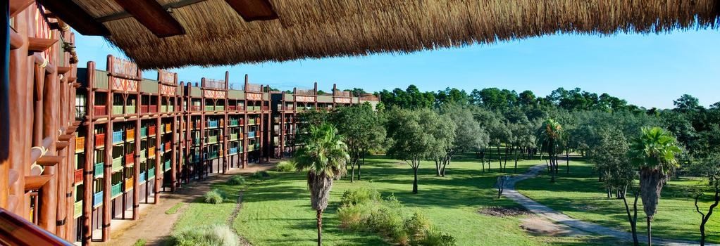Disney's Animal Kingdom Villas - Jambo House - Lake Buena Vista - Building