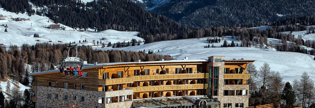 Hotel Paradiso - Alpe di Siusi - Outdoor view
