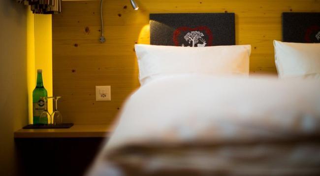 Hotel Cristal Flumserberg - Flums - Bedroom
