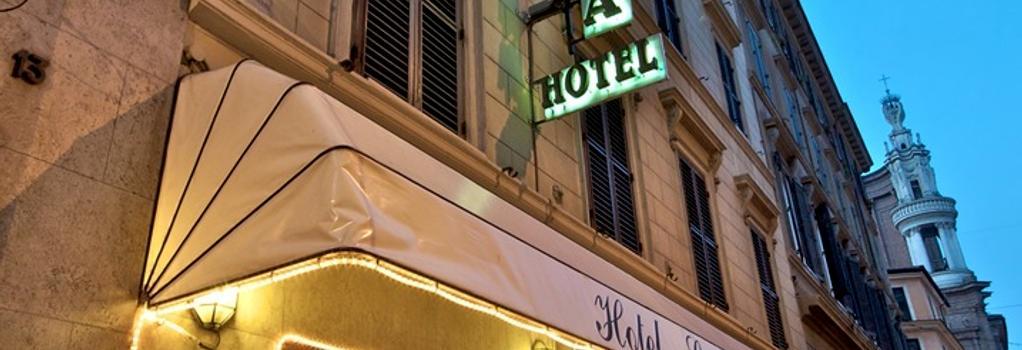 Hotel Concordia - Rome - Outdoor view