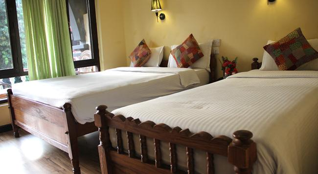 Lake View Resort - Pokhara - Bedroom