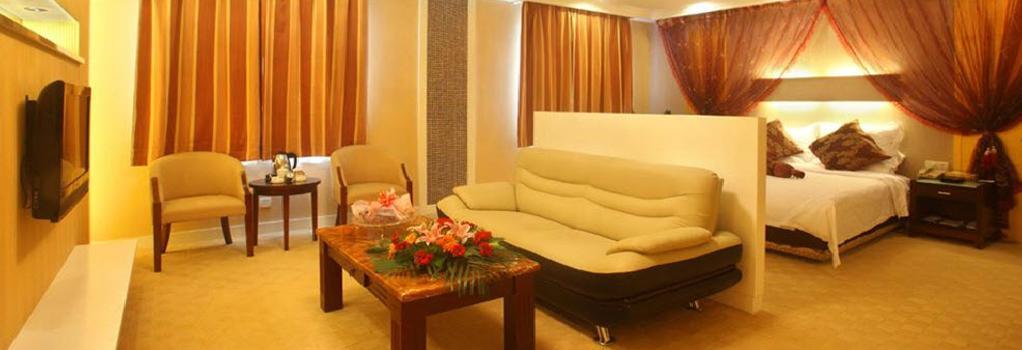Siya Garden Hotel - Nanjing - Nanjing - Bedroom