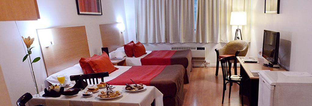 Apart Hotel & Spa Congreso - Buenos Aires - Bedroom