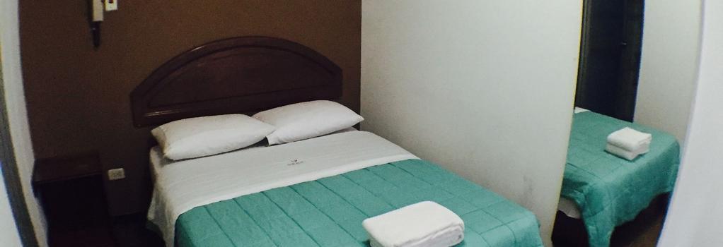 Tupac - Lima Airport Hostel - Lima - Bedroom