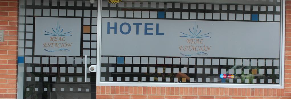 Hotel Real Estación - Bogotá - Building