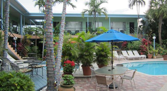 Victoria Park Hotel - Fort Lauderdale - Building