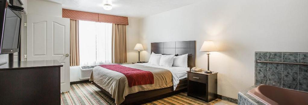 Visalia Sequoia Hotel - Visalia - Bedroom