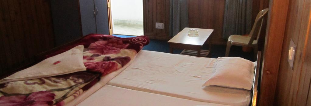 Himalaya Inn - Kalimpong - Bedroom