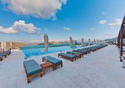 Royal Marmin Bay Boutique & Art Hotel - Elounda - Pool