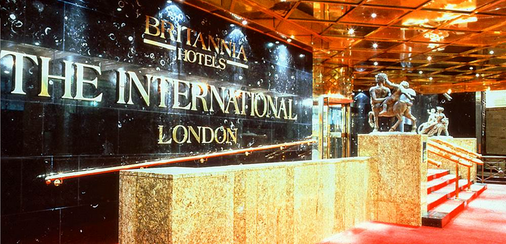 Britannia International Hotel Canary Wharf - London - Front desk