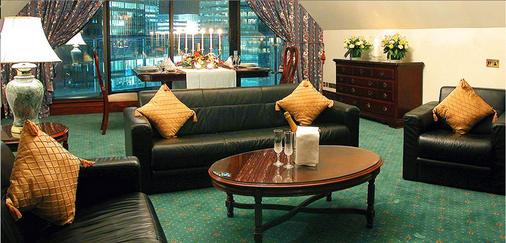 Britannia International Hotel Canary Wharf - London - Living room
