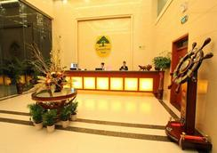 Greentree Inn Jiangsu Nantong Rugao Bus Station Business Hotel - Rugao - Front desk