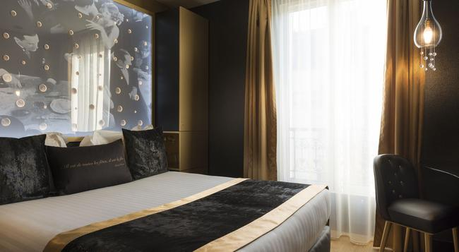 Hotel Les Bulles De Paris - Paris - Bedroom