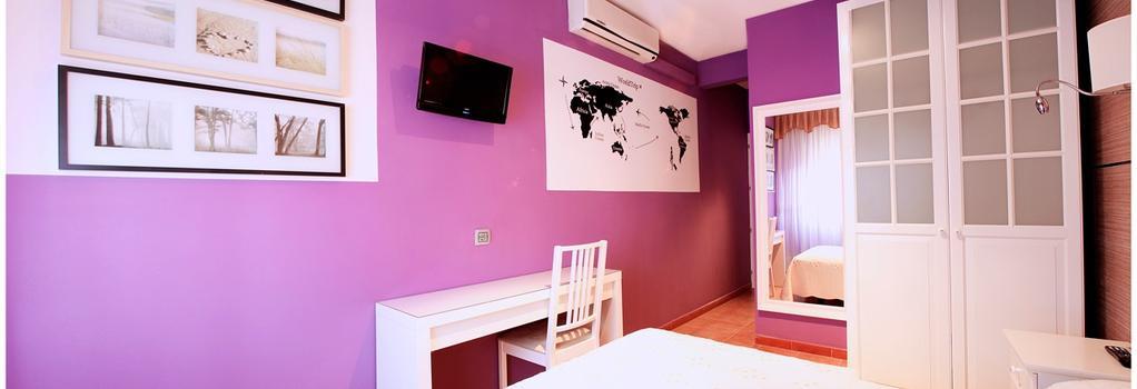 Hostal Los Angeles - Madrid - Bedroom