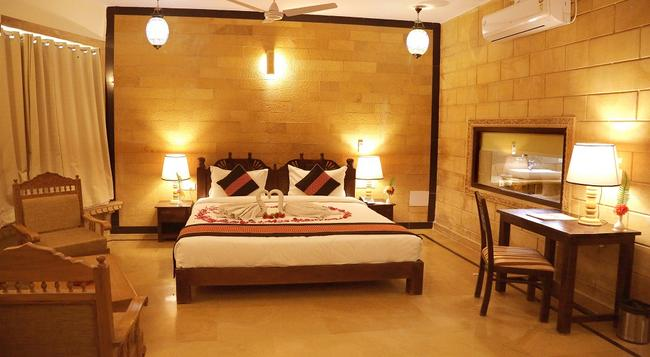 Golden Haveli - Jaisalmer - Bedroom