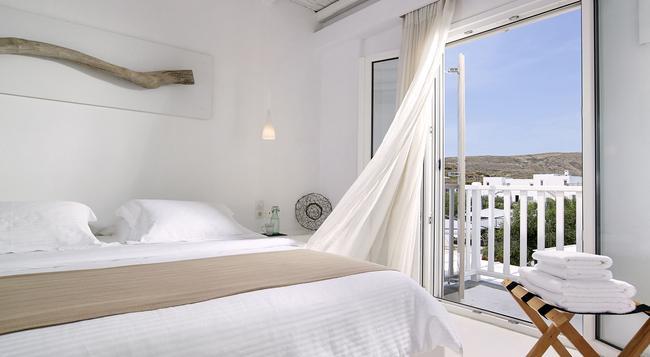 Delmar Apartments & Suites - Apollonia (Milos) - Bedroom