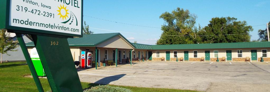 Modern Motel - Vinton - Building