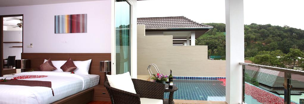 Bangtao Tropical Residence Resort & Spa - Choeng Thale - Bedroom