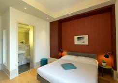 Hotel Pestalozzi Lugano - Lugano - Bedroom