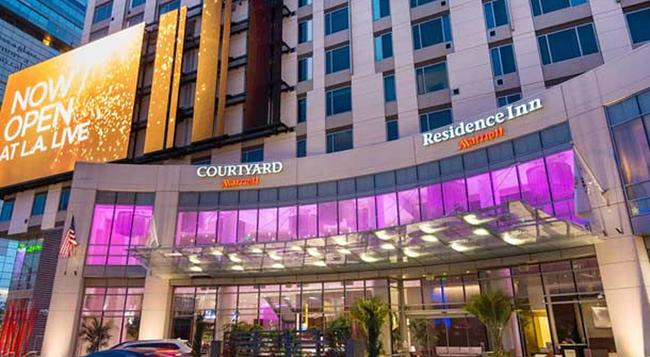 Courtyard by Marriott Los Angeles L.A. LIVE - Los Angeles - Building