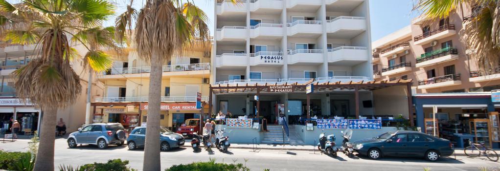 Pegasus Hotel Apartments - Rethymno - Building