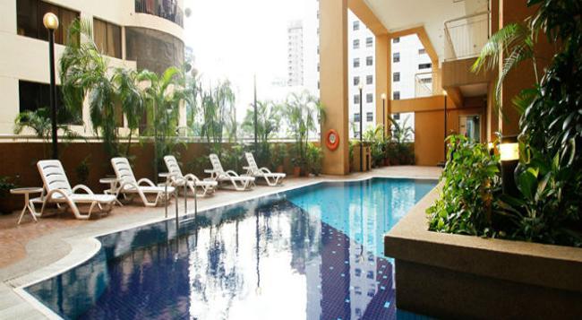 A BEST Seri Bukit Ceylon Serviced Residence - Kuala Lumpur - Pool