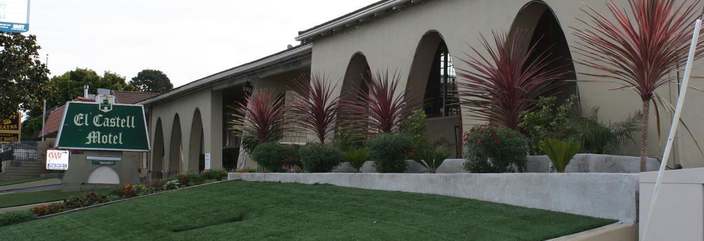 El Castell Motel - Monterey - Outdoor view