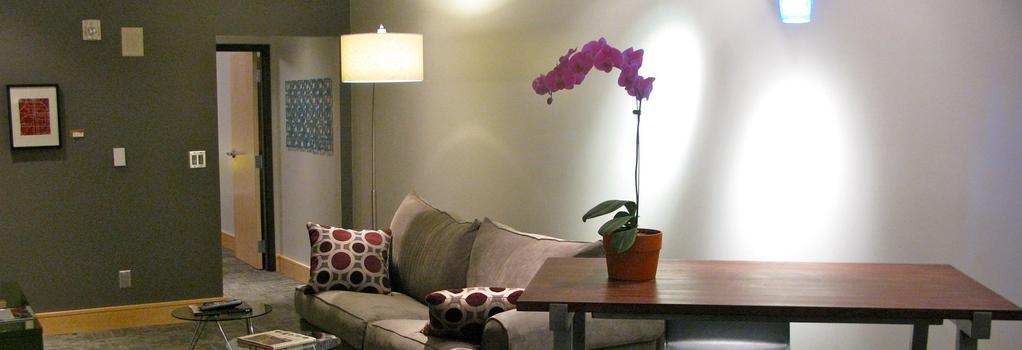 Suites at 118 - Bloomington - Bloomington - Living room