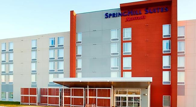 SpringHill Suites by Marriott Salt Lake City Airport - Salt Lake City - Building
