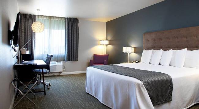 Redac Gateway Hotel In Torrance - Torrance - Bedroom